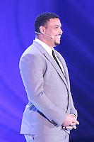 Costa do Sauípe, Bahia, Brazil - Friday, Dec 6, 2013: <br /> FIFA holds the World Cup 2014 draw in Brazil, at a coastal resort town of Costa do Sauípe in the State of Bahia. Former Brazilian player Ronaldo was part of the ceremony.