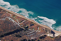 aerial photograph of Fort Ord Beach, Monterey County, California