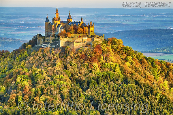Tom Mackie, LANDSCAPES, LANDSCHAFTEN, PAISAJES, photos,+Bavaria, Deutschland, Europe, German, Germany, Hohenzollern Castle, Tom Mackie, autumn, autumnal, building, buildings, castle+, castles, countryside, fall, fortress, hill, hills, hilltop, horizontal, horizontals, nobody, scenery, scenic, schloss, seas+on, tourist attraction, tree, trees,Bavaria, Deutschland, Europe, German, Germany, Hohenzollern Castle, Tom Mackie, autumn, a+utumnal, building, buildings, castle, castles, countryside, fall, fortress, hill, hills, hilltop, horizontal, horizontals, no+,GBTM190532-1,#l#, EVERYDAY