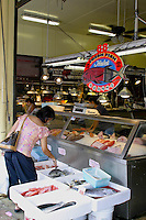 Chinatown's open markets offer a wide variety of fresh meats,fishes, and vegetables to the discriminating food shopper.Located in downtown Honolulu.