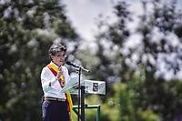 BOGOTÁ - COLOMBIA, 1-01-2020:Posesión de Claudia López como la  nueva alcaldesa de Bogotá ,es la primera mujer en ocupar el segundo cargo mas imporante del país./<br /> Possession of Claudia López as the new mayor of Bogotá, is the first woman to occupy the second most important position in the country.. Photo: VizzorImage / Diego Cuevas / Contribuidor