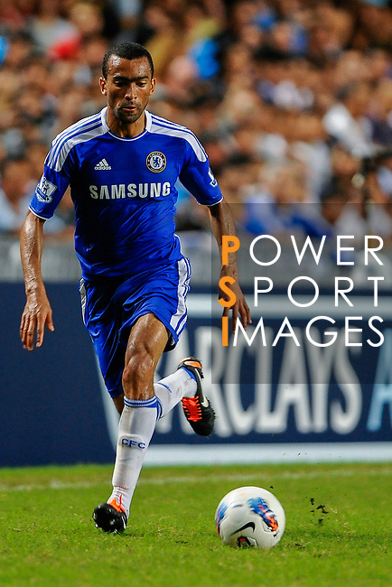 Jose Bosingwa of Chelsea in action during the Asia Trophy Final match aganist Aston Villa at the Hong Kong Stadium on July 30, 2011 in So Kon Po, Hong Kong. Photo by Victor Fraile / The Power of Sport Images