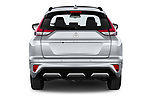 Straight rear view of 2021 Mitsubishi Eclipse-Cross-PHEV Instyle 5 Door SUV Rear View  stock images