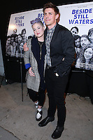 BEVERLY HILLS, CA, USA - NOVEMBER 16: Kelly Osbourne, Chris Lowell arrive at the Los Angeles Premiere Of Tribeca Film's 'Beside Still Waters' held at the Laemmle's Music Hall Theatre on November 16, 2014 in Beverly Hills, California, United States. (Photo by David Acosta/Celebrity Monitor)