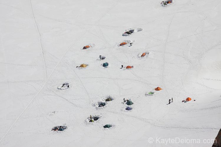 Mont-Blanc base camp, Chamonix-Mont-Blanc