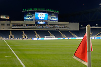 Chester, PA - Friday December 08, 2017: Talen Energy Stadium prior to a NCAA Men's College Cup semifinal soccer match between the Stanford Cardinal and the Akron Zips at Talen Energy Stadium.