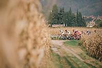 breakaway group <br /> <br /> 112th Il Lombardia 2018 (ITA)<br /> from Bergamo to Como: 241km