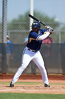 Milwaukee Brewers Omar Cotto (39) during an instructional league game against the Cleveland Indians on October 8, 2015 at the Maryvale Baseball Complex in Maryvale, Arizona.  (Mike Janes/Four Seam Images)