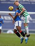 02.05.2121 Rangers v Celtic: Stephen Welsh and Alfredo Morelos