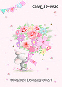 Roger, CUTE ANIMALS, LUSTIGE TIERE, ANIMALITOS DIVERTIDOS, paintings+++++,GBRM19-0020,#ac#, EVERYDAY