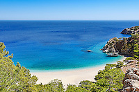 Apella is the most famous beach of Karpathos, Greece