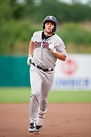 Scranton/Wilkes-Barre RailRiders third baseman Brandon Drury (29) runs the bases during a game against the Syracuse Chiefs on June 14, 2018 at NBT Bank Stadium in Syracuse, New York.  Scranton/Wilkes-Barre defeated Syracuse 9-5.  (Mike Janes/Four Seam Images)