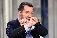 20190110 Matteo Salvini a Porta a Porta