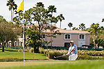 PALM BEACH GARDENS, FL. - Carl Pettersson from the rough on hole 8 during Round Two play at the 2009 Honda Classic - PGA National Resort and Spa in Palm Beach Gardens, FL. on March 6, 2009.