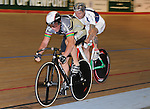 Geoff Cooke18 times world champion racing in the Welsh Championship at Newport Velodrome. Welsh Cycling Championships 2009, Newport Velodrome © Ian Cook IJC Photography, 07599826381,  iancook@ijcphotography.co.uk, www.ijcphotography.co.uk