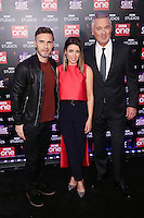 """Gary Barlow, Dannii Minogue and Martin Kemp<br /> at the """"Let it Shine"""" launch, Ham Yard Hotel, London.<br /> <br /> <br /> ©Ash Knotek  D3214  13/12/2016"""