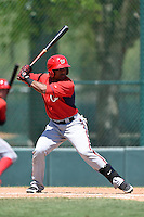 Washington Nationals second baseman Wilmer Difo (3) during a minor league spring training game against the Atlanta Braves on March 26, 2014 at Wide World of Sports in Orlando, Florida.  (Mike Janes/Four Seam Images)