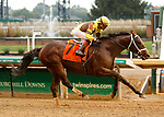 October 2, 2021: Plainsman #7, ridden by jockey Joel Rosario wins the Grade 3 Ack Ack Stakes at Churchill Downs in Louisville, K.Y. on October 2nd, 2021 Candice Chavez/Eclipse Sportswire/CSM