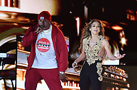 NEW YORK, NY- SEPTEMBER 25: LL Cool J and Jennifer Lopez at the 2021 Global Citizen Live Festival at the Great Lawn in Central Park, New York City on September 25, 2021. Credit: John Palmer/MediaPunch