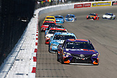 Monster Energy NASCAR Cup Series<br /> Toyota Owners 400<br /> Richmond International Raceway, Richmond, VA USA<br /> Sunday 30 April 2017<br /> Denny Hamlin, Joe Gibbs Racing, FedEx Ground Toyota Camry<br /> World Copyright: Matthew T. Thacker<br /> LAT Images<br /> ref: Digital Image 17RIC1mt1623