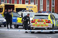 2017 01 18 Armed siege in Birkenhead, Merseyside, England, UK
