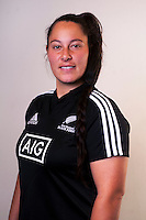 Aleisha Nelson. New Zealand Black Ferns headshots at The Rugby Institute, Palmerston North, New Zealand on Thursday, 28 May 2015. Photo: Dave Lintott / lintottphoto.co.nz