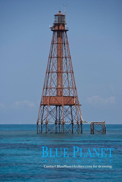 Sombrero Reef lighthouse, Florida Keys, Marathon