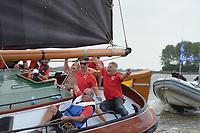 ZEILSPORT: TERHERNE: 08-08-2018, SKS Skûtsjesilen, ©foto Martin de Jong