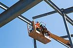 Childhood League Steel Erection Job Site Photography | Corna-Kokosing