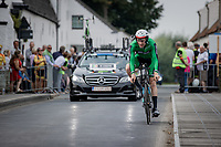 Marcus Christie (IRL)<br /> <br /> 88th UCI Road World Championships 2021 – ITT (WC)<br /> Men's Elite Time trial from Knokke-Heist to Brugge (43.3km)<br /> <br /> ©Kramon