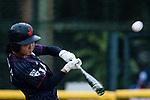 #2 Ogata Yuka of Japan bats during the BFA Women's Baseball Asian Cup match between Pakistan and Japan at Sai Tso Wan Recreation Ground on September 4, 2017 in Hong Kong. Photo by Marcio Rodrigo Machado / Power Sport Images