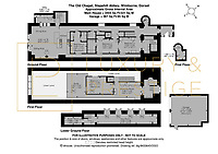 BNPS.co.uk (01202) 558833. <br /> Pic: LuxuryAndPrestige/BNPS<br /> <br /> Pictured: Floor plan. <br /> <br /> A heavenly converted chapel that has been transformed into a contemporary home is on the market for £1.5m.<br /> <br /> The Old Chapel was used by an order of nuns for 139 years before the humble church got a stylish upgrade into a four-bedroom property.<br /> <br /> The Grade II listed building has been carefully restored to retain stunning ecclesiastical features like windows, archways and doors, but with a modern twist.<br /> <br /> And although the owner bought it from the developer before it was finished, the stunning home has never been lived in.