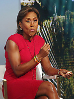 NEW YORK, NY- JULY 21: Robin Roberts  on the set of Good Morning America in New York City on July 21, 2021. Credit: RW/MediaPunch