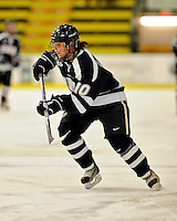 11 February 2011: University of New Hampshire Wildcat forward Kristina Lavoie, a Sophomore from Fonthill, Ontario, in action against the University of Vermont Catamounts at Gutterson Fieldhouse in Burlington, Vermont. The Lady Catamounts defeated the visiting Lady Wildcats 4-2 in Hockey East play. Mandatory Credit: Ed Wolfstein Photo
