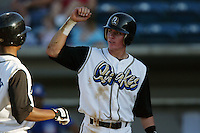 September 1 2008: Ryan Mount of the Rancho Cucamonga Quakes during game against the Inland Empire 66'ers at The Epicenter in Rancho Cucamonga,CA.  Photo by Larry Goren/Four Seam Images