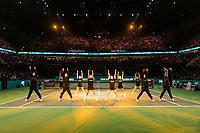 Rotterdam, The Netherlands, 17 Februari 2019, ABNAMRO World Tennis Tournament, Ahoy, Dancers, <br /> Photo: www.tennisimages.com/Henk Koster