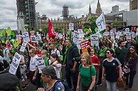 Justice for Grenfell protest. London 16-6-18