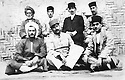 Iran 1935? .Sitting, left, Qazi Mohammed in Mahabad.<br />