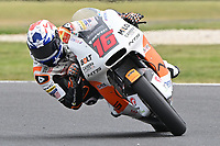 October 27, 2018: Joe Roberts (USA) on the No.16 NTS from Nts Rw Racing Gp during the Moto2 practice session three at the 2018 MotoGP of Australia at Phillip Island Grand Prix Circuit, Victoria, Australia. Photo Sydney Low