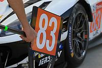 #83 AF CORSE (ITA) FERRARI 488 GTE EVO LM GTE AM  FRANCOIS PERRODO (FRA) EMMANUEL COLLARD (FRA) NICKLAS NIELSEN (DNK)