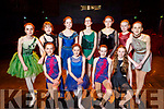 Kerry School of Music's Dance Academy students rehearsing for their Ballet Born to Dance Show in Siamsa Tire on Sunday.<br />  Front l to r: Sophie Walsh, Dara McCarthy, Kathleen McCoy and Allanah Power.<br /> Back l to r: Eabhe Lawlee, Heidi Flynn, Soirce Sweeney, Miriam O'Sullivan, Hannah Sharky, Jane Horgan and Lauren O'Sullivan