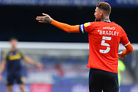 17th October 2020; Kenilworth Road, Luton, Bedfordshire, England; English Football League Championship Football, Luton Town versus Stoke City; Sonny Bradley of Luton Town gives out instructions