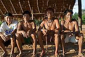 Xingu Indigenous Park, Mato Grosso State, Brazil. Aldeia Moygu (Ikpeng).
