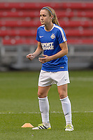 Chicago, IL - Wednesday Sept. 07, 2016: Heather O'Reilly prior to a regular season National Women's Soccer League (NWSL) match between the Chicago Red Stars and FC Kansas City at Toyota Park.