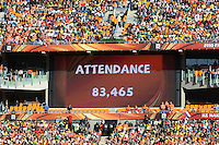 Holland defeated Denmark, 2-0, June 14th, at Soccer City in the opening match of Group E of the 2010 FIFA World Cup.