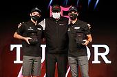 GTD Champions #86 Meyer Shank Racing w/Curb-Agajanian Acura NSX GT3, GTD: Mario Farnbacher, Matt McMurry with IMSA President John Doonan