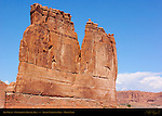 The Organ, Courthouse Towers Area, Arches National Park, Moab, Utah