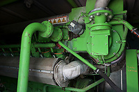 CROATIA, Osijek, dairy farm of Zito Group with biogas plant / KROATIEN, Osijek, großer Milchviehbetrieb der Zito Gruppe mit Biogasanlage, BHKW Pro2