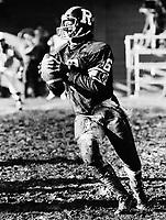 JC Watts Ottawa Rough Riders quarterback. Copyright photograph Scott Grant/