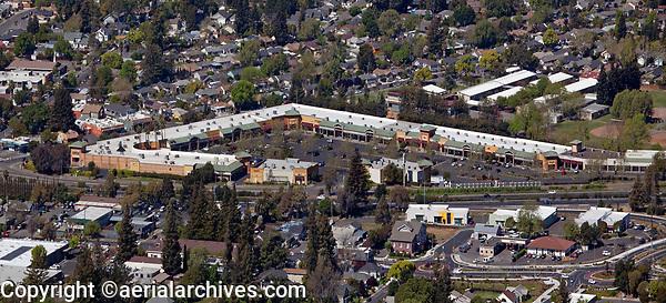 aerial photograph of Napa Premium Outlets, Napa, California